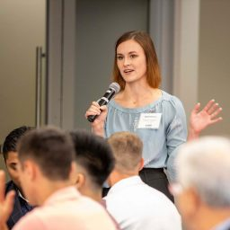 Ted Bauer Undergraduate Business Scholars Hold Kick-off Meeting of Fall 2019