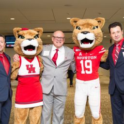 MBA & MS alumni mix and mingle at TDECU Stadium