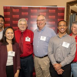 Bauer Alumni Host Lunch Discussion with Dean Paul A. Pavlou